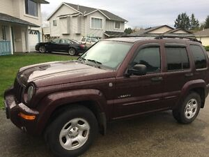 REDUCED...2004 Jeep Liberty, Limited Edition, 4x4 For Sale