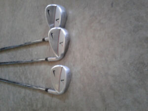 Nike Victory Red Forged Irons 3-PW with aw, sw and lw