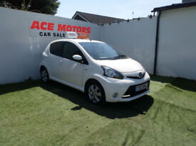 2013 TOYOTA AYGO 1.0 FIRE 5 DOOR ONLY 19,000 MILES WITH FULL SERVICE HISTORY