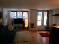 Beautiful and spacious furnished two-bedroom in the Plateau