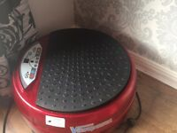Vibroplate tone and loose weight vibration plate