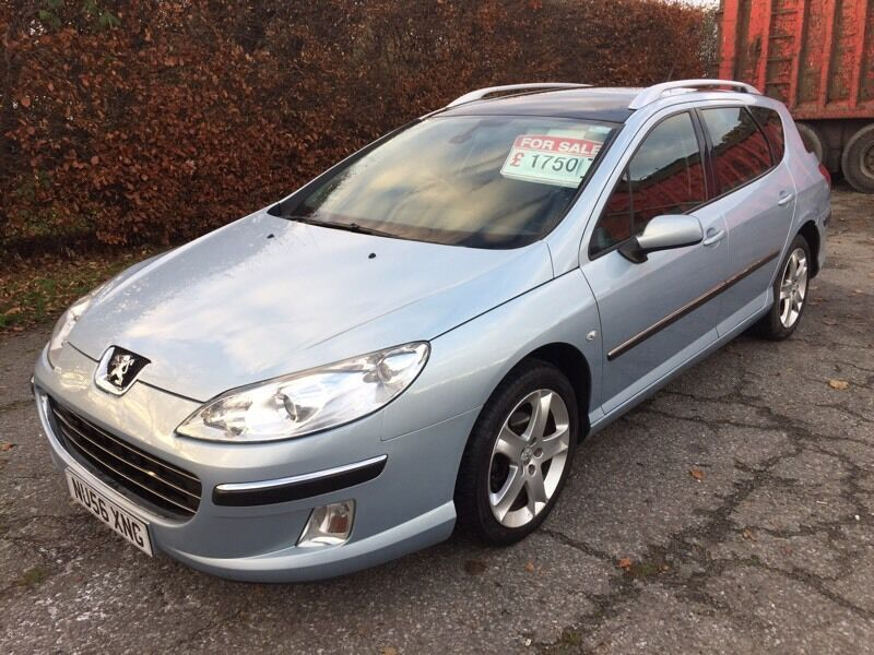2007 Peugeot 407 sw. 2.0 HDI *REDUCED* p/ex welcome.
