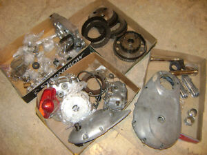 triumph bonni parts 5 speed and cases