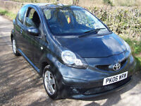 2006 06 Plate Toyota AYGO 1.0 VVT-i Sport , 69,000 Miles , Only £20 A Year Tax !
