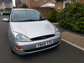 Ford focus, 1year mot, tidy economical big boot £595 ono