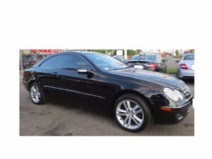 2007 Mercedes-Benz CLK 350 black mint condition $16500 OBO