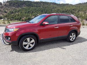 2012 Kia Sorento Red SUV, Crossover