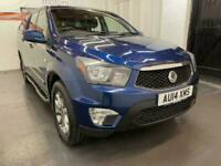 2014 Ssangyong KORANDO SPORTS 2.0 TD EXT Pickup 4WD 4dr Pickup Diesel Automatic