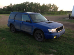 1998 Subaru Forester SF5 Turbo AWD 5 Speed New Tires