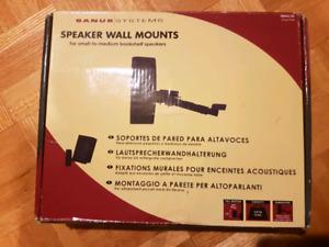 Speaker wall mounts