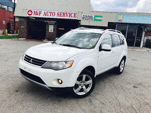 2007 Mitsubishi Outlander XLS SUV • 7 SEATER -LEATHER •CERTIFIED