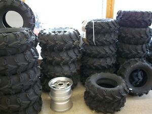 KNAPPS in PRESCOT has lowest price on new ATV tires and rims!!!!