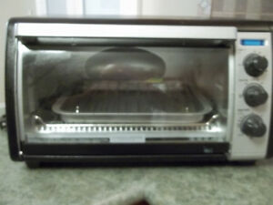 BLACK & TOASTER OVER, LIKE NEW, BARELY USED