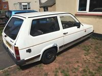 Robin reliant spares and repairs