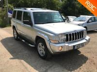Jeep Commander 3.0CRD V6 auto Limited,89.000 MILES SERVICE HISTORY, 7 SEATS,