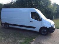 2014 (14) Vauxhall Movano F3500 L3H2 2.3 CDTI 123 bhp 1 Owner Clean Van LWB