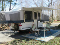 Fleetwood Sante Fe Pop-up Trailer CP