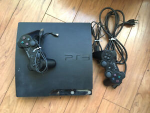 120 GB Ps3 with games and controllers