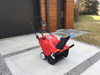 TROY BILT Squall™ 2100 Snow Thrower - 1 year old, MINIMAL use