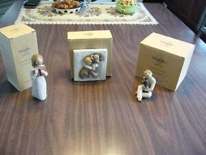 3 bibelots   WillowTree de Susan Lordi