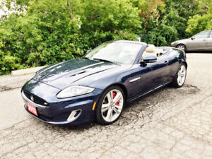 Rare 2012 Jaguar XK XKR Convertible Supercharged V8 5.0L 510 HP