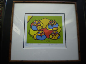 """Norval Morrisseau """" Owls """" Limited Edition Print"""