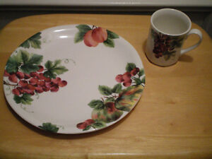 "Royal Doulton Everyday ""Vintage Grape"" Dishes"