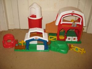 fisher price farm set