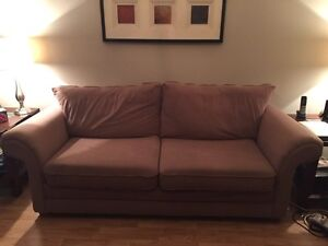 Cloth couch and love seat Kitchener / Waterloo Kitchener Area image 2