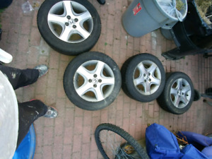 FOR SALE!! HONDA RIMS SND TIRES!!