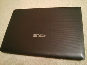 Asus 14''  Notebook i3 6gb ram/500gb hdd