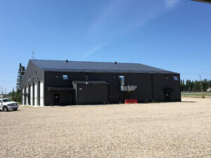 Edson, AB  Shop/office/washbay/accommodations for sale/lease