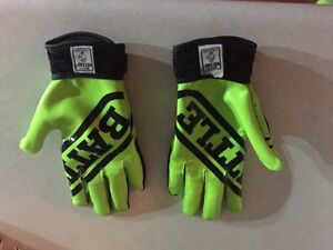 Youth size small football gloves