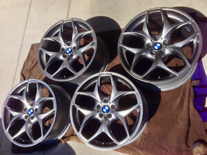 "Genuine 21"" BMW Style 215 Rims only - for X5 and X6"