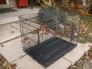 Pet Mate Small Dog Cage, with tray