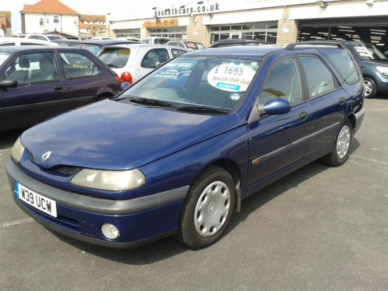2000 renault laguna 1 9 dti rt diesel estate from gbp895 retail package in thornton. Black Bedroom Furniture Sets. Home Design Ideas