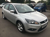 Ford Focus 1.6TDCi 110 ( DPF ) 2008.25MY Zetec. *1 OWNER***FULL SERVICE HISTORY*