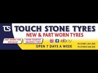 Touch Stone Tyres - Tyre Shop - New & Used Tyres @ Discounted Prices - PartWorn / Part Worn Tires