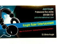 Knight Rider Entertainment DJ Service $350