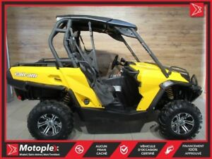 2011 Can-Am Commander 1000 66$/SEMAINE