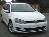 Volkswagen GOLF ESTATE 1.6 TDI SE 105ps AUTO DSG 7sp 2015 : ONLY 19k miles