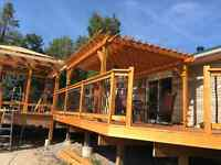 Want a beautiful deck like this one? -Steve Booth
