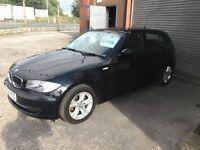 BMW 1 Series 2.0 118d SE 5dr 2008 (58 reg), Hatchback 12 months mot nice spec quality car