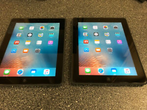 Ipad 2nd Gen. Black 16G WiFi & Iphone 6 White 16G Bell for sale