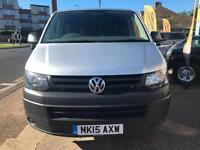 BAD CREDIT CAR FINANCE 2015 15 VW TRANSPORTER 6 SEAT 2.0TDI SWB T32 STARTLINE