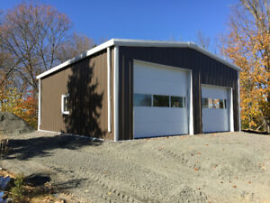 FINAL SALE!!  STEEL BUILDINGS AND FOUNDATIONS