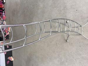 Stainless steel wine rack