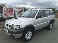 NISSAN TERRANO 2.7 TD DIESEL 4X4 5DR *** 7 SEATS ***ONLY 2 OWNERS ***HPI CLEAR