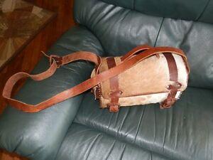 Brahma Bull Hide Bag