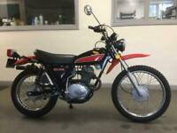 1977 Honda XL175 TWIN SHOCK CALIFORNIA IMPORT ONLY 739 MLS, CLASSIC MOTORCYCLE